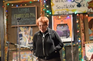 Judy openning the show
