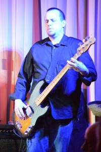 Mike Law on Bass