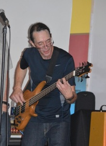 Jim on bass