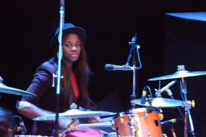Sis on Drums