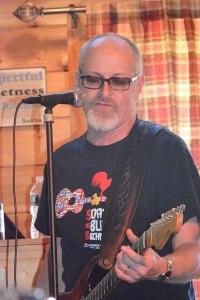 Guest guitarist Shawn Leonard