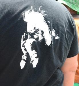 Back of shirt
