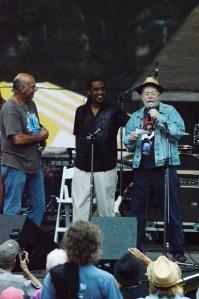 Paul and Bill present Lifetime Achievement Award